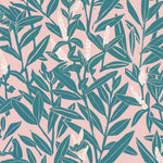 Climbing Vine Wallpaper - Beryl & Blushes