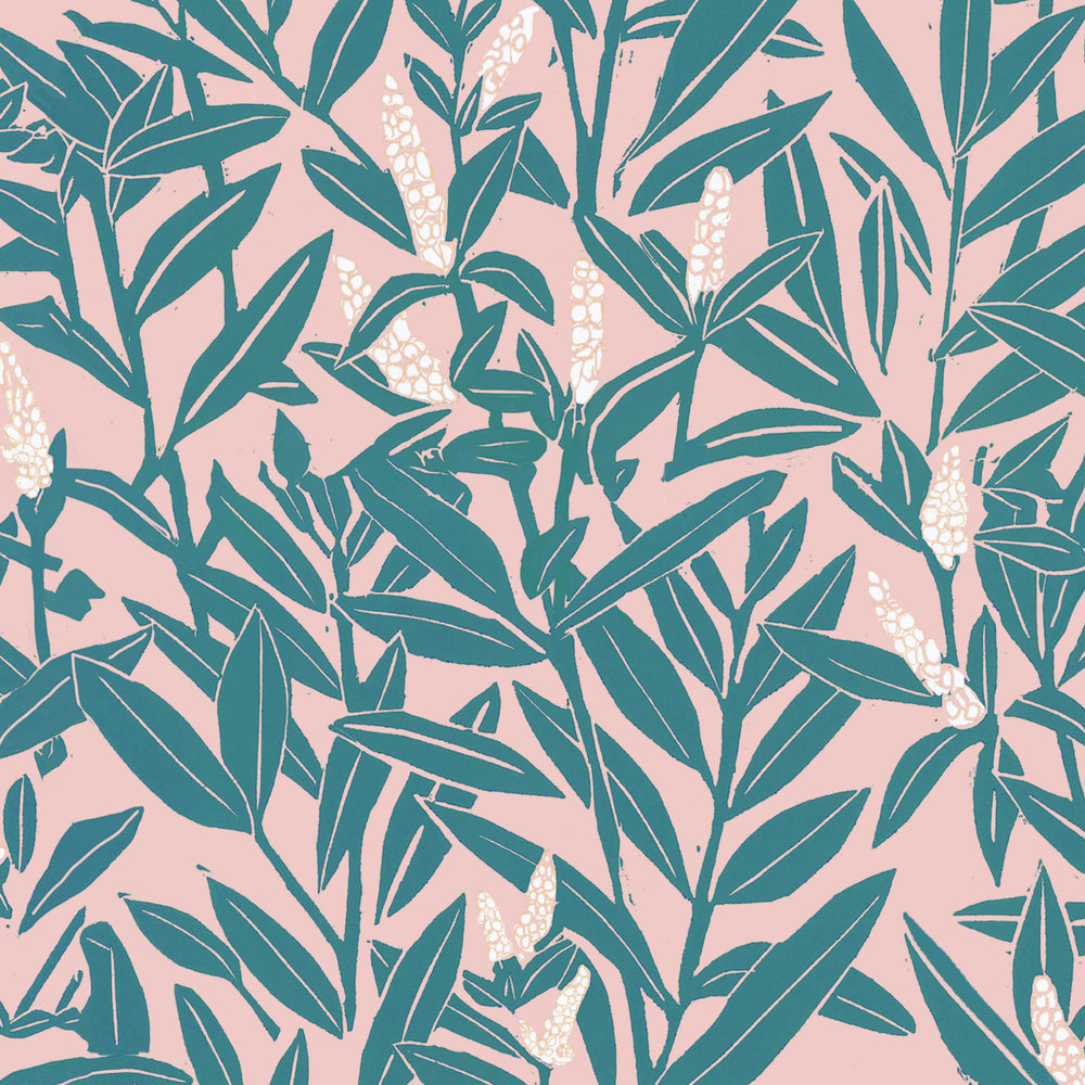 Giclée Print Climbing Vine -Beryl and Blushes