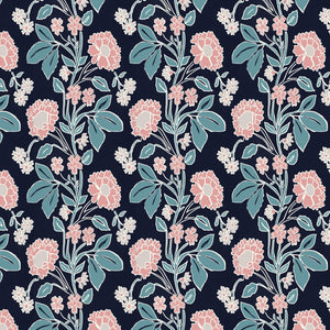 Load image into Gallery viewer, Honiton Lace Wallpaper - Noir