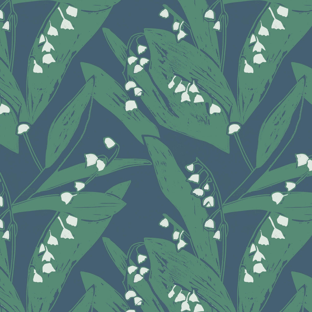 SAMPLE Lily of the Valley - Leaves at Midnight
