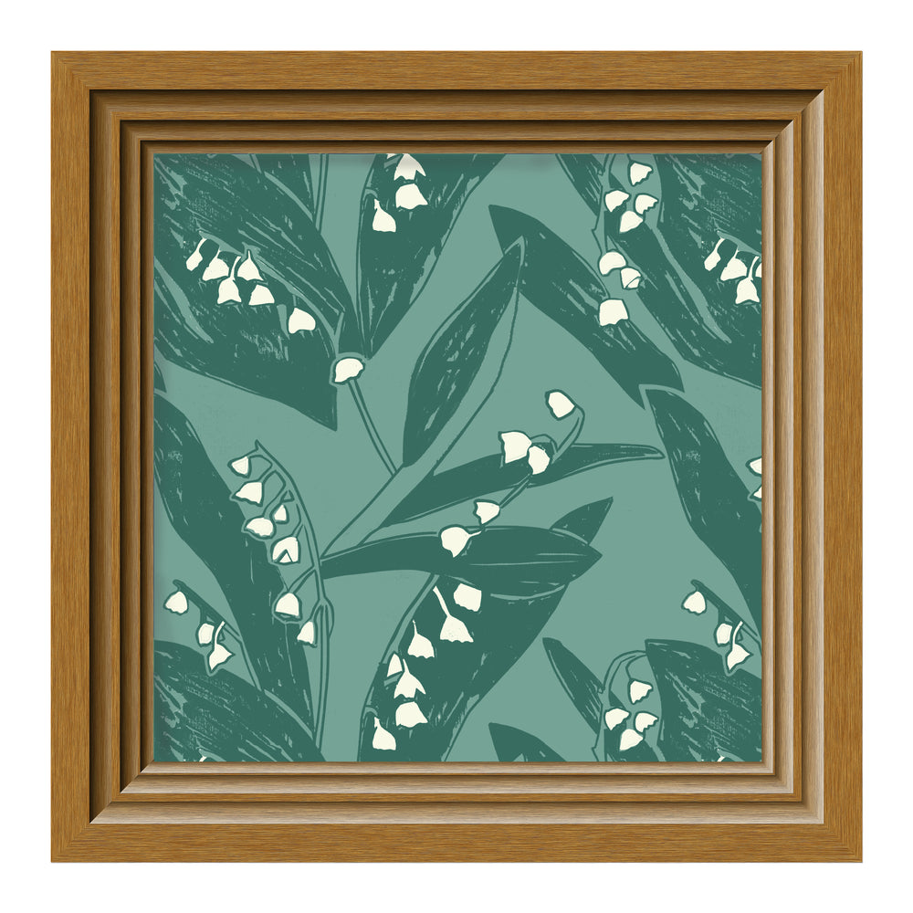 Load image into Gallery viewer, Giclée Print Lily of the Valley - Valley Green