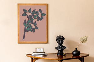 Load image into Gallery viewer, Giclée Print The Red Cotton Tree - Bikaner Sand