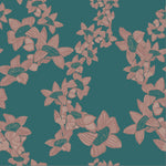 The Red Cotton Tree Wallpaper - Indian Teal