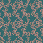 SAMPLE The Red Cotton Tree - Indian Teal