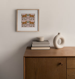 Load image into Gallery viewer, Giclée Print Tiger Tiger - Morganite