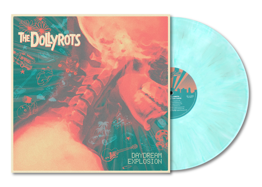"2nd Edition ""Daydream Explosion"" Vinyl (Marbled Teal)"