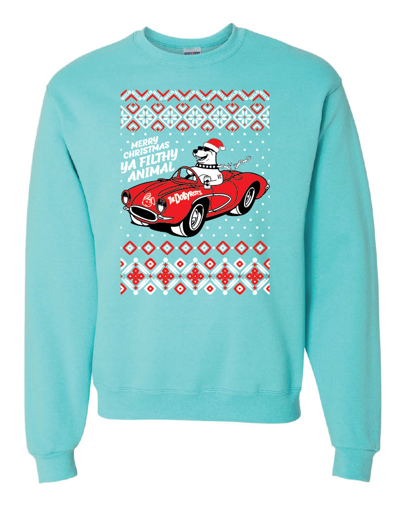 2019 Xmas Sweater - Ya Filthy Animal