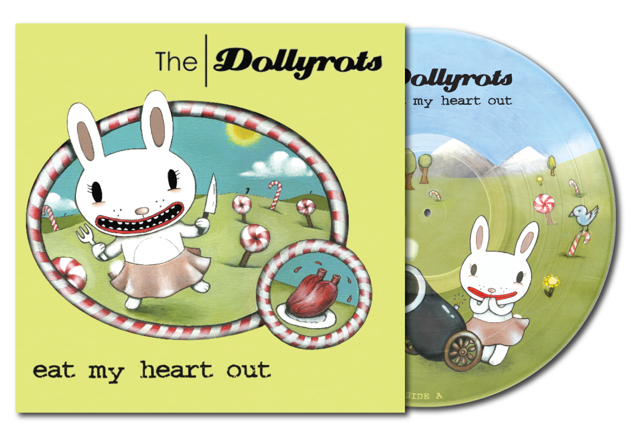 """Eat My Heart Out"" Deluxe Gatefold Picture Disc Vinyl (Reissue)"