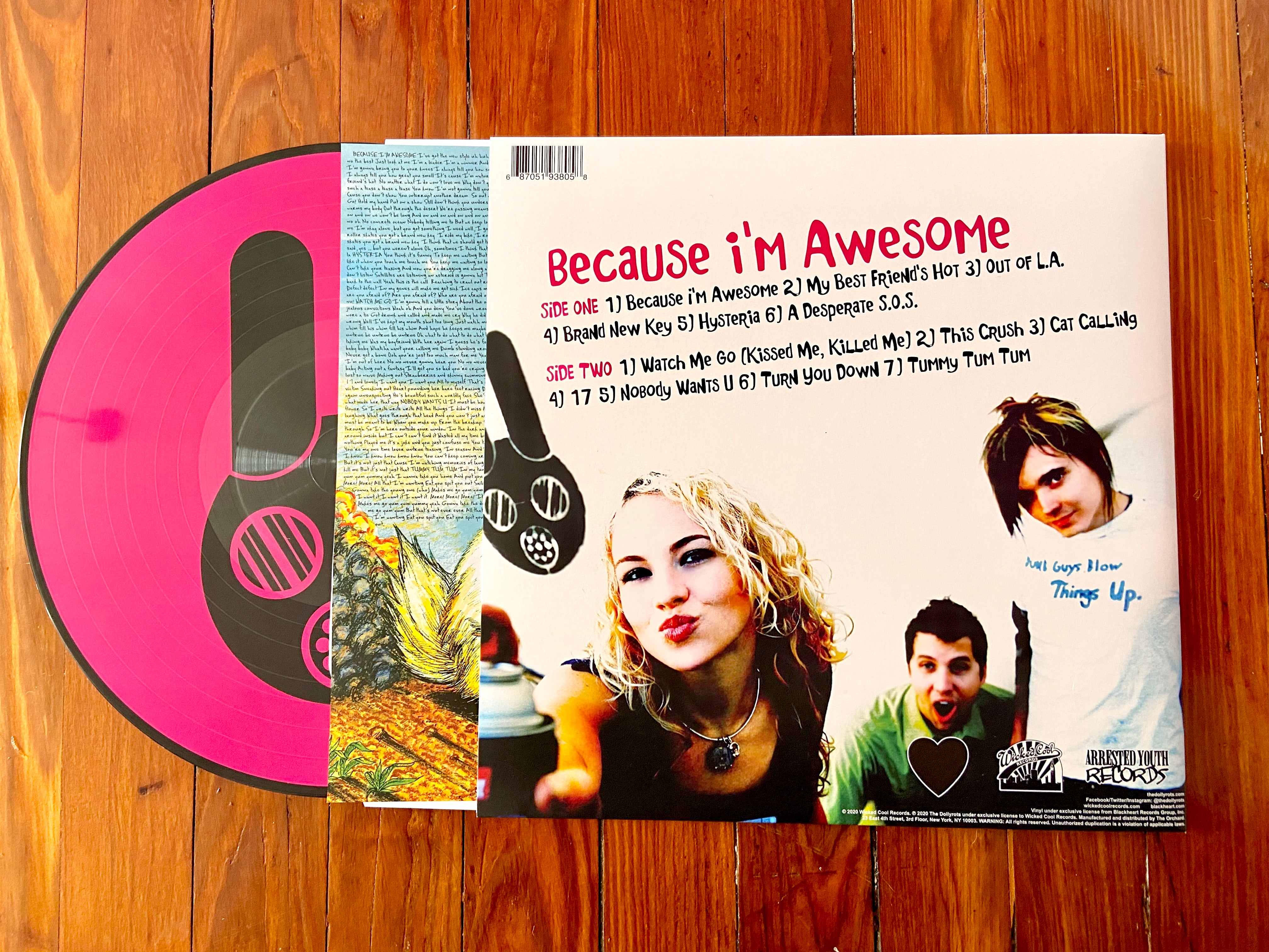 """Because I'm Awesome"" 2020 Deluxe Gatefold Picture Disc Vinyl"