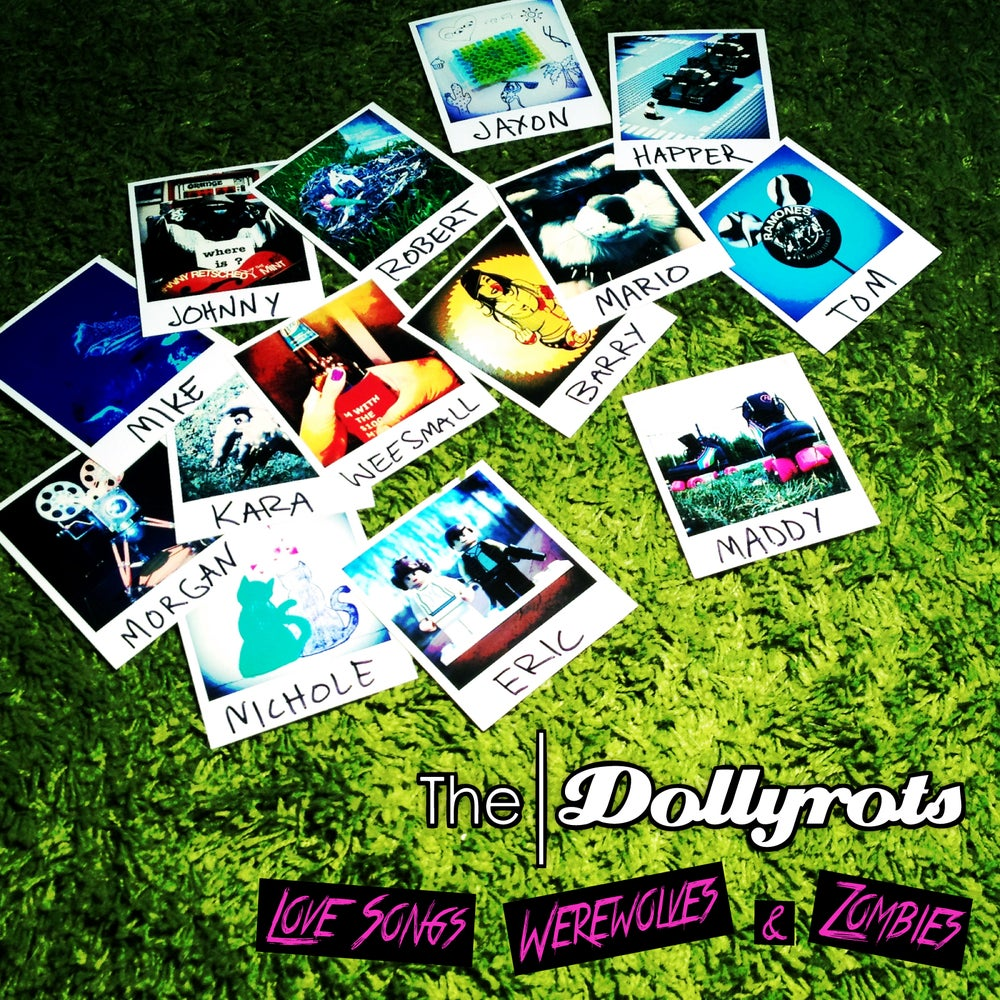 """Love Songs, Werewolves and Zombies"" CD (A Dollyrots ACOUSTIC Album)"
