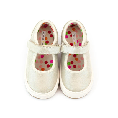 Zutano Shoe Charlotte Mary Jane Girls Shoe - Natural