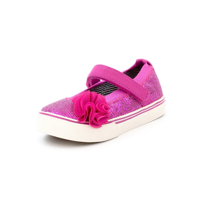 Zutano Shoe Dazzle Mary Jane Girls Shoe - Azalea