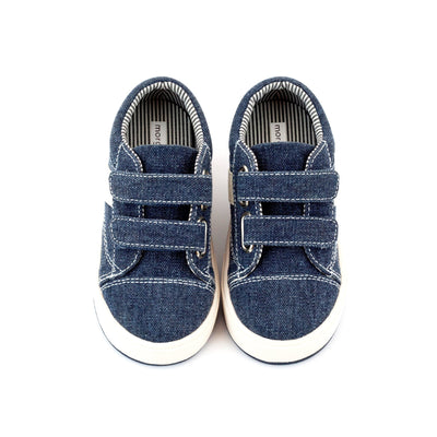 Zutano Shoe Miles Double V Kids Shoe - Navy