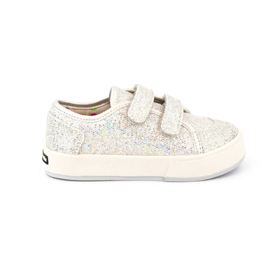Zutano Shoe Nina Double V Girls Shoe - Silver