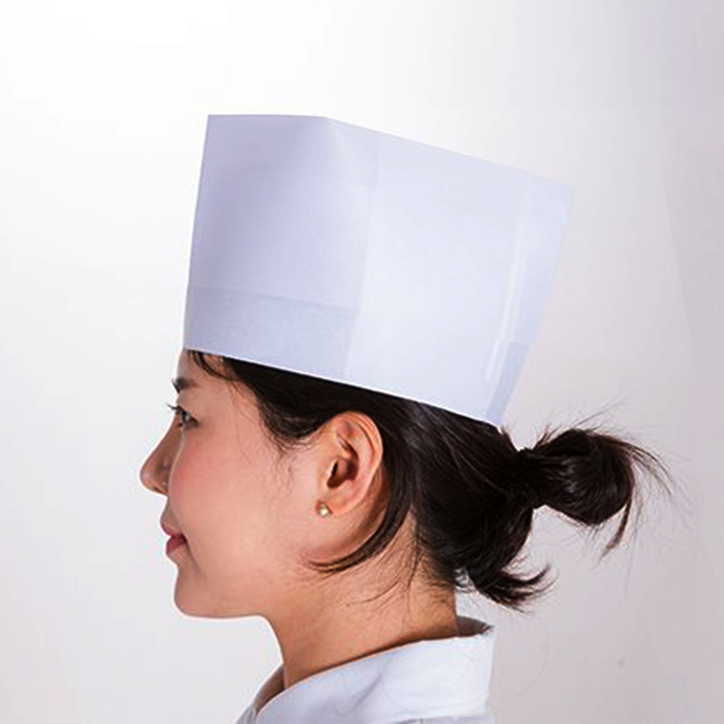 SG-JP Disposable Chef Hat (20 pcs)