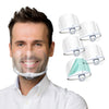 Clear Mask SG4 TALL(5 Sets) Transparent Sanitary Open Mask Tall (Cover Nose & Mouth Shield)