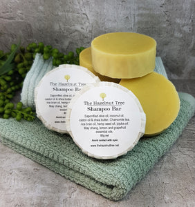 The Hazelnut Tree Shampoo Bar