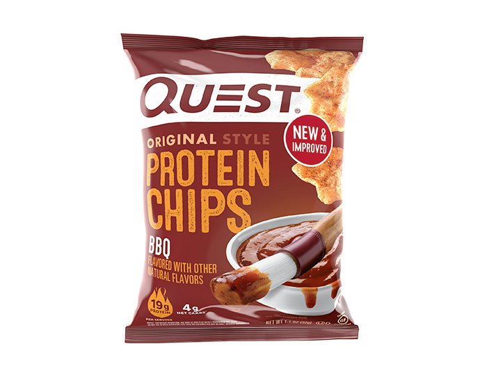 BBQ Protein Chips single