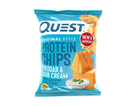 Cheddar & Sour Cream Protein Chips single