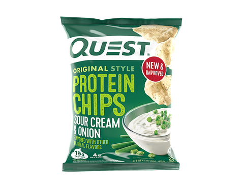 Sour Cream & Onion Protein Chips single
