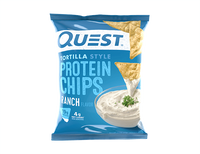 Ranch Tortilla Style Protein Chips single