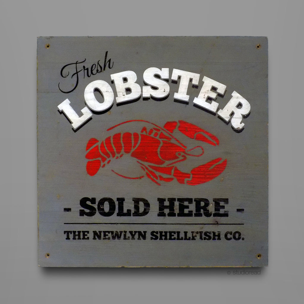Fresh Lobster - Sign
