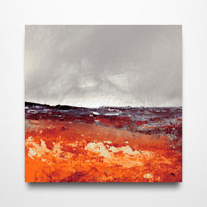Heading to St. Just - Canvas Print