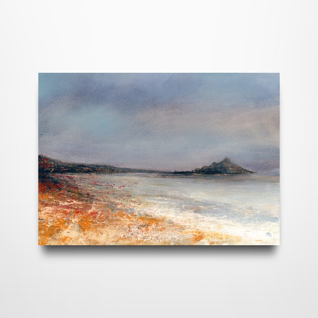 Low-tide Marazion - Canvas Print