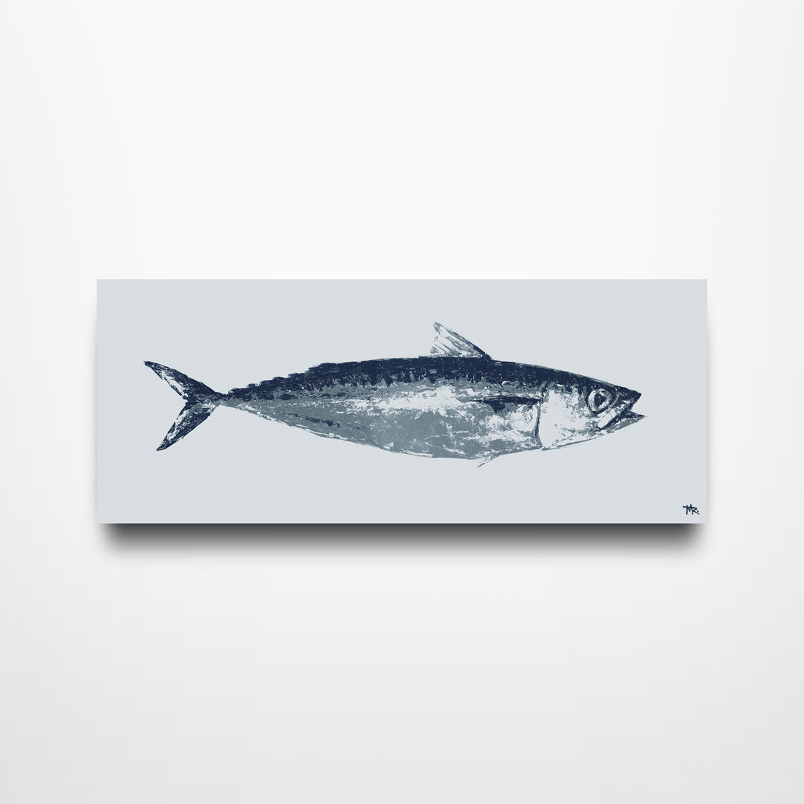 Oscar's Mackerel - Canvas Print