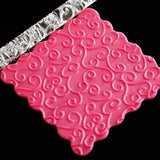 Star Pattern Embossed Rolling Pin