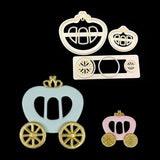 Sugarcraft Crown Carriage Plastic Fondant Cutters
