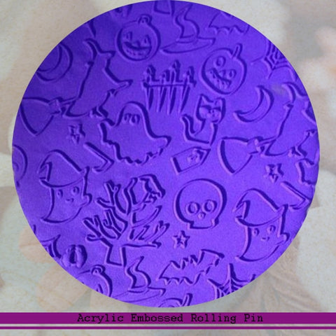 Halloween Embossed Rolling Pin