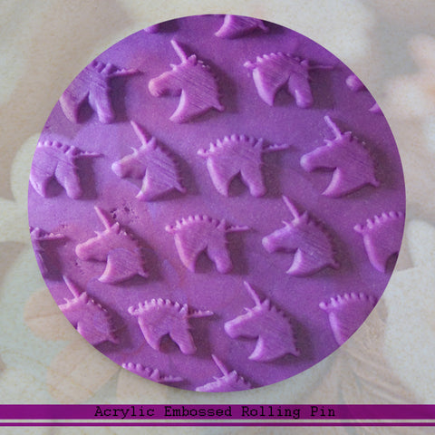 Unicorn Embossed Rolling Pin