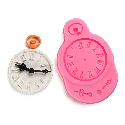 Clock Watch Silicone Mold