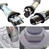 3PCS Stainless Steel Fondant Crimpers