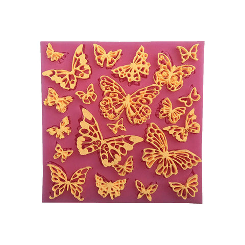 Butterfly Silicone Lace Mat