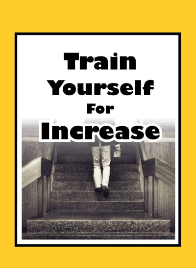 Curriculum - Train yourself for increase