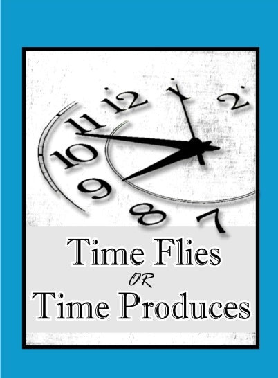 Curriculum - Time flies or time produces