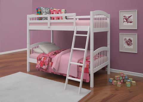 a12e09e9cea Manville Twin Twin Bunk-bed Supported slats 13 top