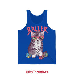 Baller - Unisex Jersey Tank - True Royal / S - Tank Top