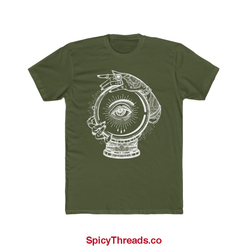 Gypsy Sight Premium Tee - Solid Military Green / Xs - T-Shirt