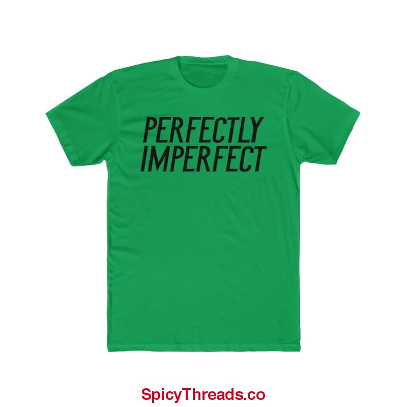 Perfectly Imperfect Premium Tee - Solid Kelly Green / Xs - T-Shirt