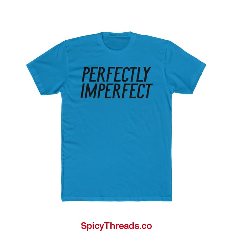 Perfectly Imperfect Premium Tee - Solid Turquoise / Xs - T-Shirt