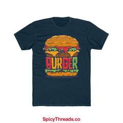The Big Burger Premium Tee - Solid Midnight Navy / Xs - T-Shirt