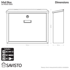 Savisto Mail Box