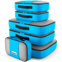 6 Piece Packing Cubes Set