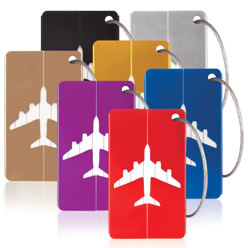 Aluminium Luggage Tags