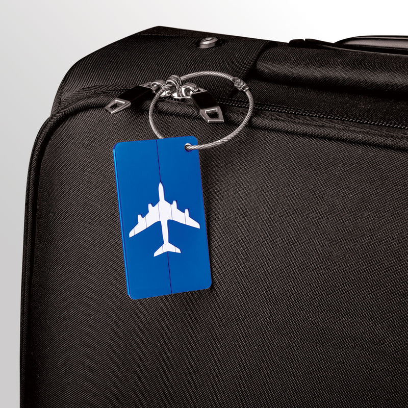 Savisto Aluminium Airport Luggage Tags