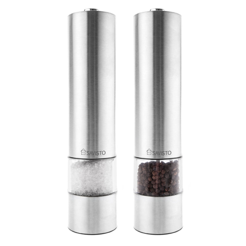 Electronic Salt & Pepper Mill Set