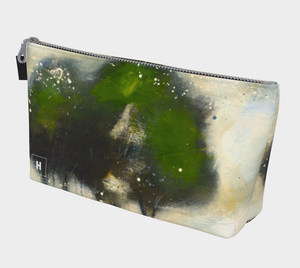 HH Green Tree Line Makeup Bag